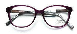 9026a502712 Image is loading HEARTLAND-COLLECTION-1224-Heart-Eyeglass-Glasses-Frames-51-