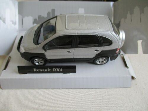 MINIATURE RENAULT SCENIC RX4 GRIS CARARAMA       1//43