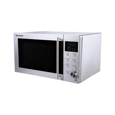 Sharp R28STM Microwave with Touch Control & LED Display in Stainless Steel