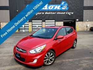 2017 Hyundai Accent GLS,Hatchback, Auto, Sunroof, Heated Seats, Bluetooth, Alloy Wheels and more!
