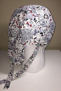 Skull Cap Colorful Doo Rag w//Cool Max Lining Skulls