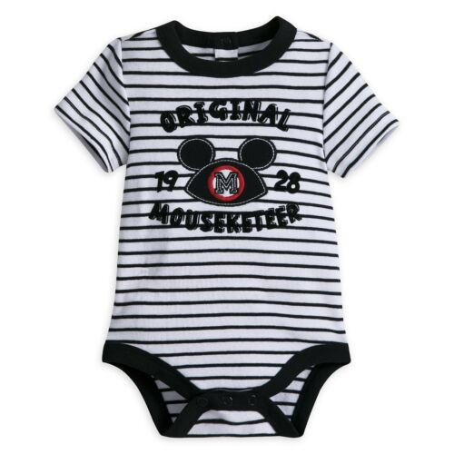 Disney Store Mickey Mouse Mouseketeer Baby Outfit Size 0 3 6 9 12 18 24 Months