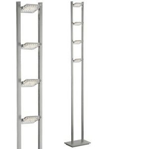 paul neuhaus futura 4 light steel led floor lamp 341 55 ebay