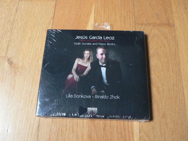 Jesus Garcia Leoz : Violin Sonata & Piano Works - Donkova, Zhok - CD Odradek NEW