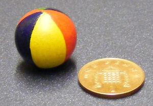DéVoué 1:12 Echelle Bois Plage Balle Tumdee Poupées Miniature Accessoire Crèche Jouet Large SéLection;