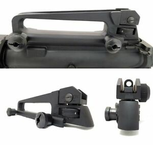 New Weaver Picatinny Rail Flattop Detachable Removable Carry Handle Rear Sight