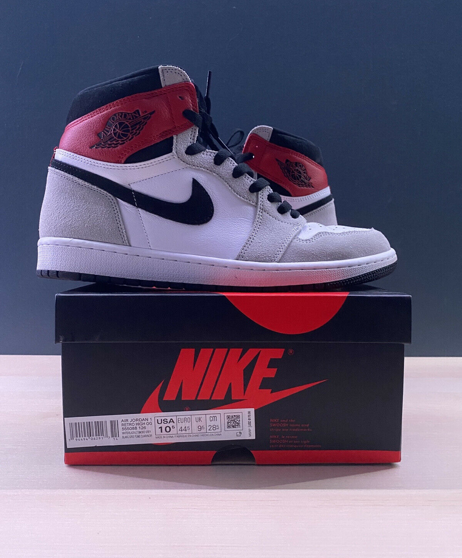 Jordan 1 Retro High OG Light Smoke Grey – Size 10.5