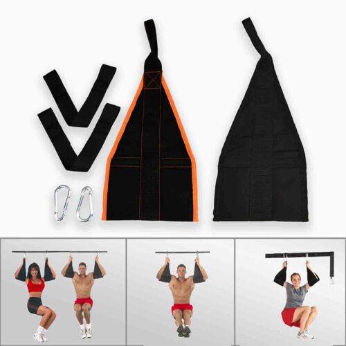 Sangle Abdominaux Suspension Ab Straps Sangle Abdos Sling Musculation Fitness NF