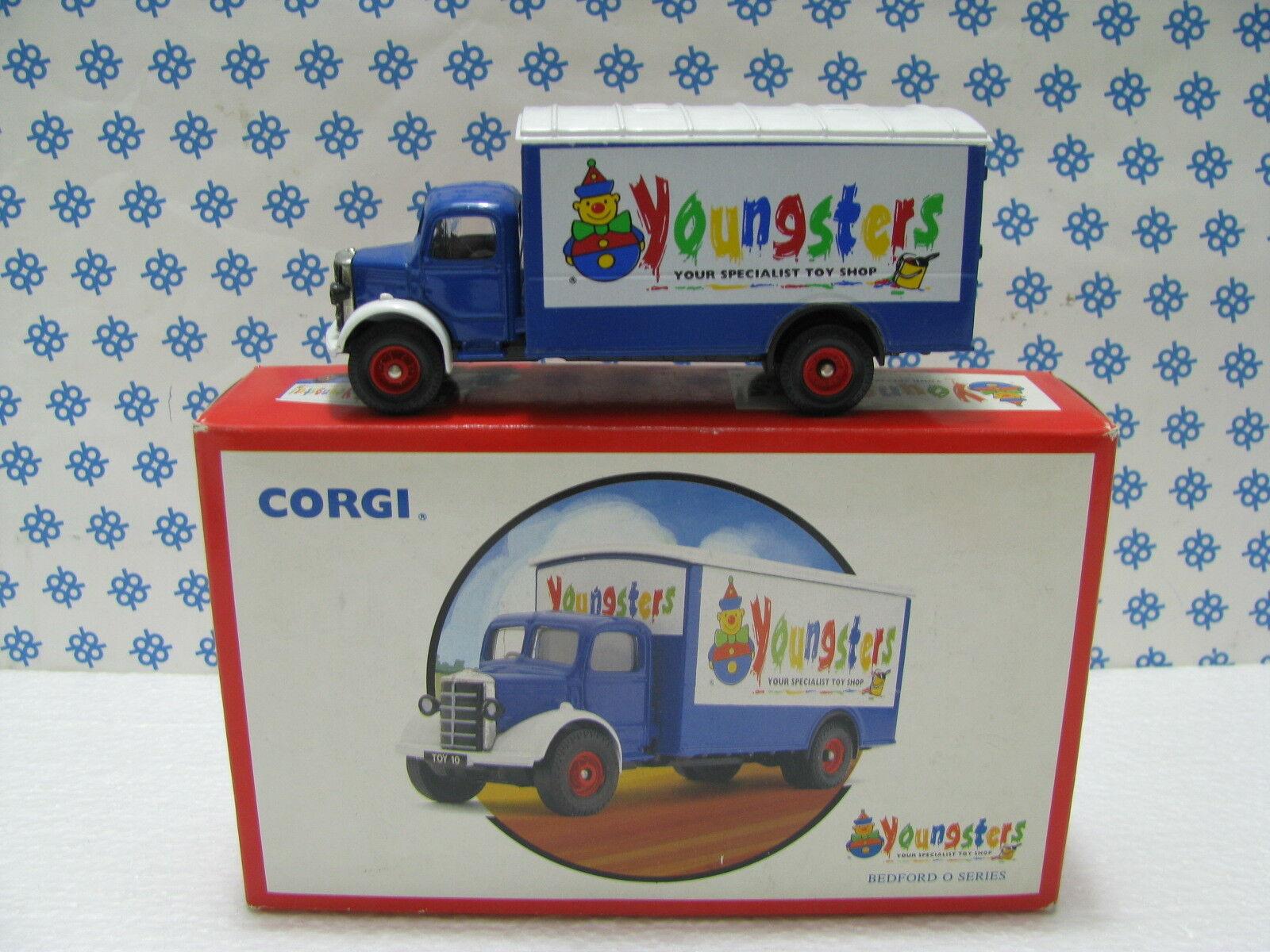 Bedford   Jeunes   Bedford Bedford Bedford Van Commémore - 1 50 Corgi Toys 979140