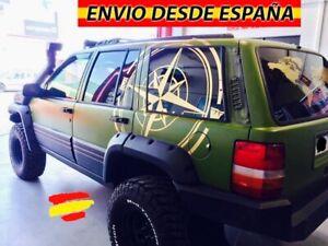 Brujula-Rosa-De-Vientos-Vinilo-Adhesivo-Sticker-Decal-Coche-4x4-115x115cm