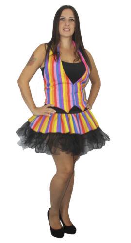 Mad Hatter Rainbow Pride Bright Tutu Set Fancy Dress Accessories Lot 10//6