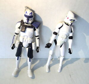 Star Wars Stormtroopers Action Figures 2009 and 2013  LFL  Plastic Poseable