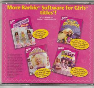 Kids Pc Game Barbi Cool Looks Fashion Designer Fashion Design For Barbi Ebay
