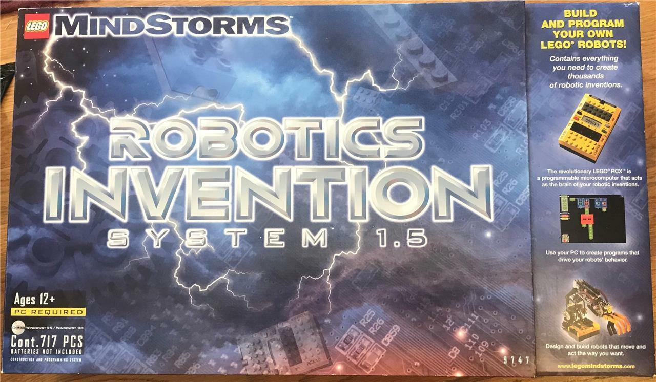 Lego  9747 Mind Storms Robotic Invention System 1.5 in Original Box