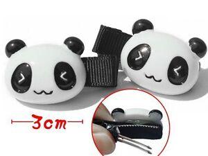 2 Barrettes Panda Q0rb3ndw-07185300-187151973