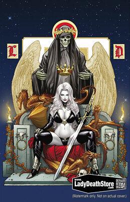 """Lady Death Dawn McTeigue, Brian Pulido Spellbound 11x17/"""" Print"""