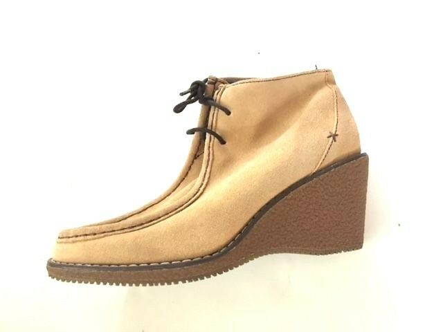 New Dr. Scholl's light tan lace up ankle bootie 7 M