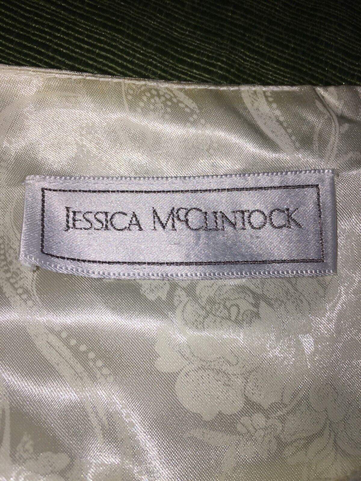 VINTAGE Jessica McClintock Crinoline Skirt 80s - image 7
