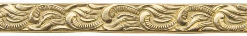 3/' Red Brass Pattern Scroll Flourish 16 Gauge Decorative Jewelry Making Wires