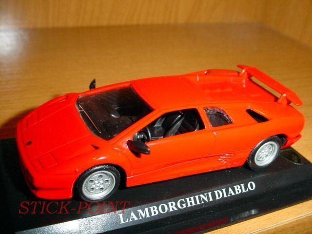 LAMBORGHINI DIABLO SCALE 1 43 RED MINT CONDITION        84d4f4