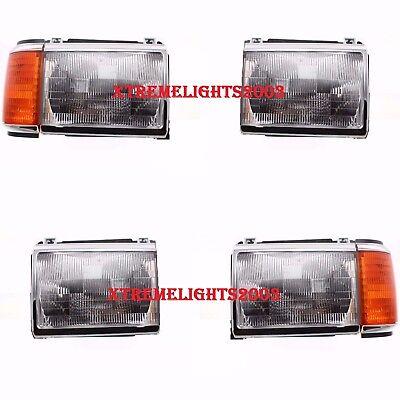 COACHMEN SANTARA 1998 1999 PAIR SET HEADLIGHTS SIGNAL HEAD LIGHTS FRONT LAMPS RV