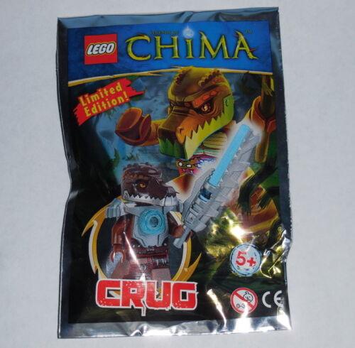 set LOC391406 NEW 2pcs+figure NIP Crocodile LEGENDS OF CHIMA Lego Crug Ltd Ed