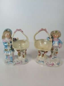 Conta-amp-Boehme-Germany-A-Pair-Of-Figurines-Appr-13-5cm-Tall