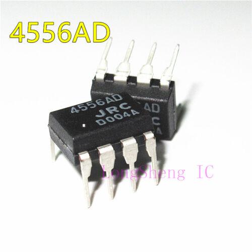 20 Pièces NJM4556AD DIP-8 Double Haute Amplificateur opérationnel nouveau