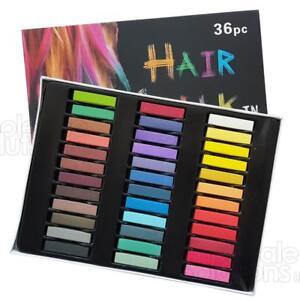 36-capelli-gessetto-TEMPORANEI-COLORE-TINTA-KIT-pastelli-salone-atossici