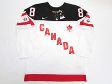 BRENT BURNS IIHF TEAM CANADA 100th ANNIVERSARY NIKE HOCKEY JERSEY SIZE  MEDIUM 8a96c61be