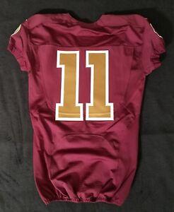newest c0934 b8fe4 Details about #11 No Name of Washington Redskins NFL Locker Room Game  Issued Alternate Jersey