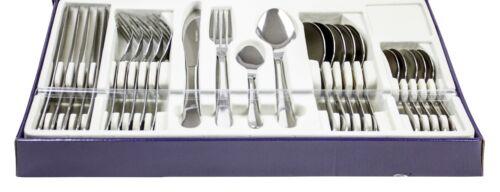 24 Pièce élégant Cuisine Acier Inoxydable Couverts Set de salle à manger vaisselle ustensiles
