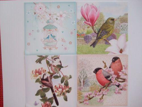 """Hunkydory 25 Mezclados Pequeño Libro De Toppers /""""libro de Birdsong/"""" Ver Fotos"""