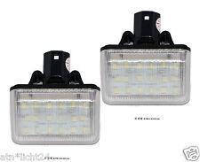 LED 2x 18SMD Mazda 6 CX7 Kennzeichen Beleuchtung Nummernschild CAN-Bus 6000K Set