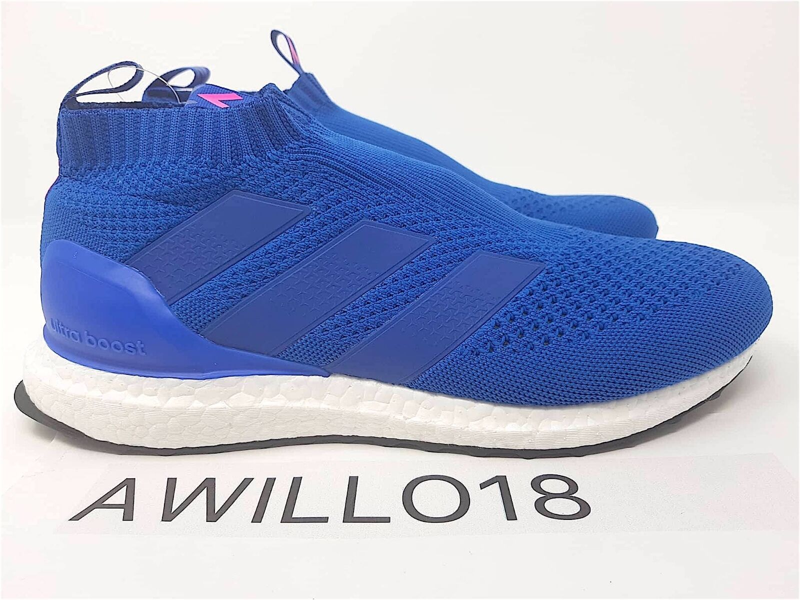 Adidas ace 17 + + 17 purecontrol ultra impulso blue blast shock rosa 10 10,5 16 + by9090 3ab2cb