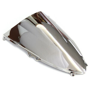 Windshield-For-2011-2015-13-Ducati-Panigale-899-1199-Silver-Screen-Double-bubble