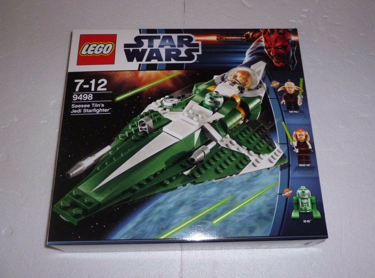 LEGO Star Wars Saesee Tiins Jedi Starfighter (9498) NEU / NEW OVP