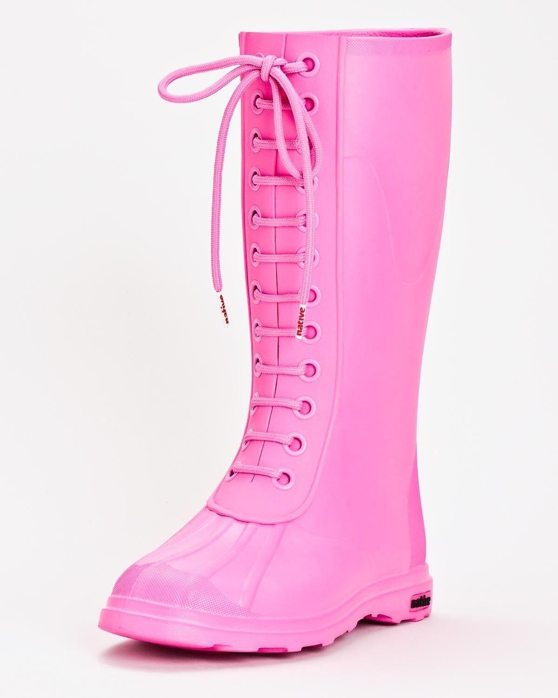 NIB NATIVE PADDINGTON WOMEN BOOTS SIZE 6 80 hollywood pink rain boots