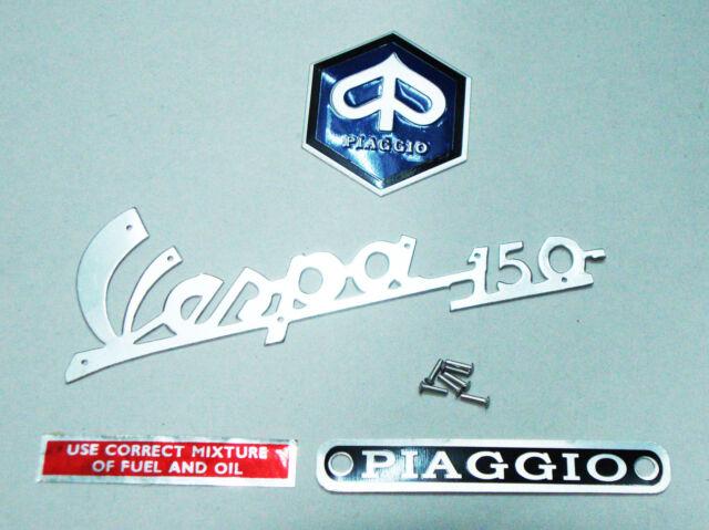 Vespa 150 emblem kit Piaggio sprint VBB VBA VNX