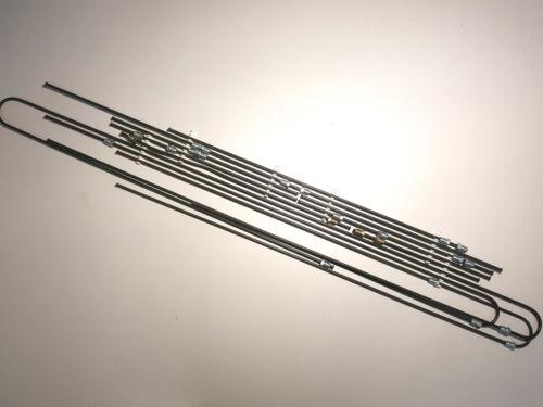 BMW e10 Bremsleitungssatz komplett alle Rohrleitungen 2002 ti tii