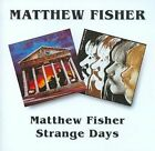 Matthew Fisher/Strange Days by Matthew Fisher (CD, Mar-1996, Beat Goes On)