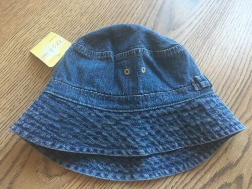 Boys//Girls 3-6 Months Mothercare Baby Denim Sunhat