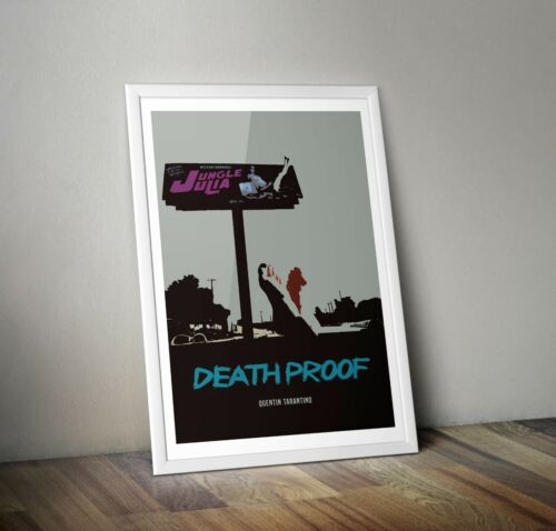 Death Proof Quentin Tarantino Inspired Movie Print// Film Poster art A3 A4 A5