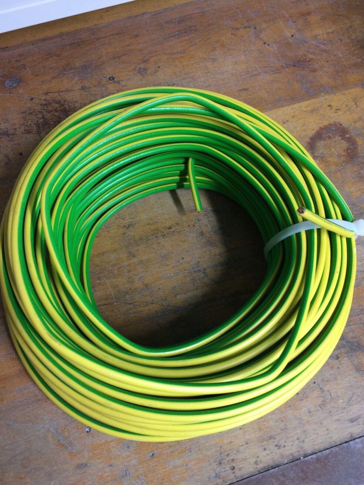 Erdungsdraht 60 M, 1x16qmm grün gelb,H07V-U, Mehrdraht Starr