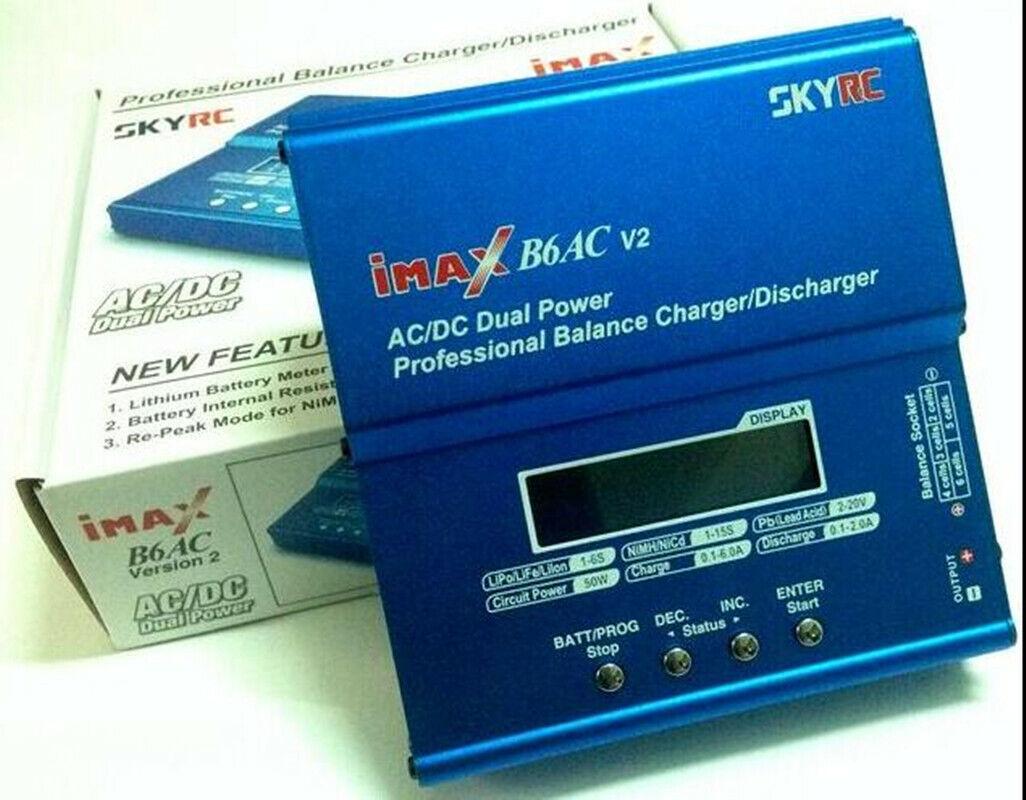 Original SKYRC iMAX B6AC V2 ACDC LiPo NiMh Battery Balance Charger