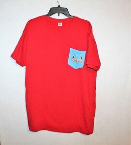 St-Louis-Cardinals-mens-t-shirt-size-XL-red-blue-logo-MLB-baseball-crewneck-tee