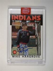 2019-Topps-Archives-Signature-Series-Retired-Edition-Auto-136-Mike-Hargrove-79