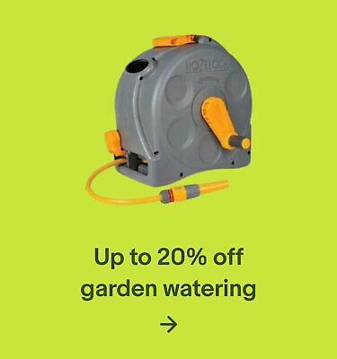 Up to 20% off garden watering