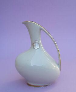 BANDTILEALKA Vase Porzellan asymetrisch 50er Jahre