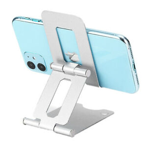 Cell Phone Tablet Stand Metal Desktop Table Holder Cradle Dock iPhone LG Switch